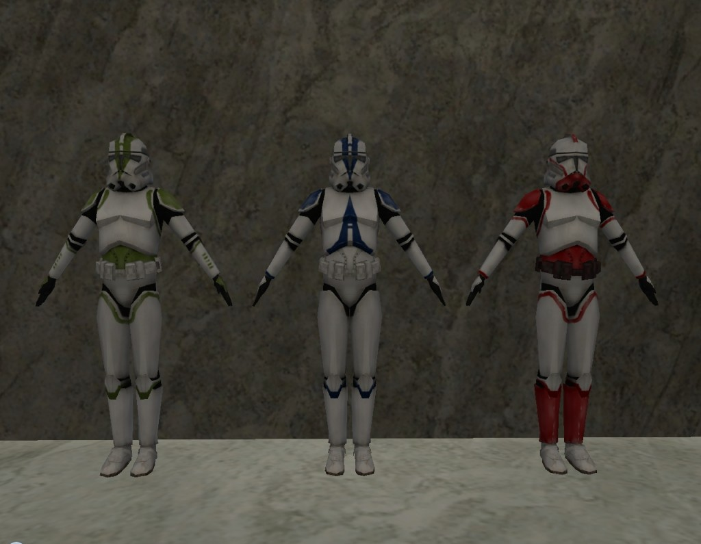 Swg Clone Wars Mod: Improved Clone Trooper Armour 1.0